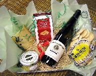 We can customize your gift basket at the $50 level (plus tax, delivery, shipping/handling).