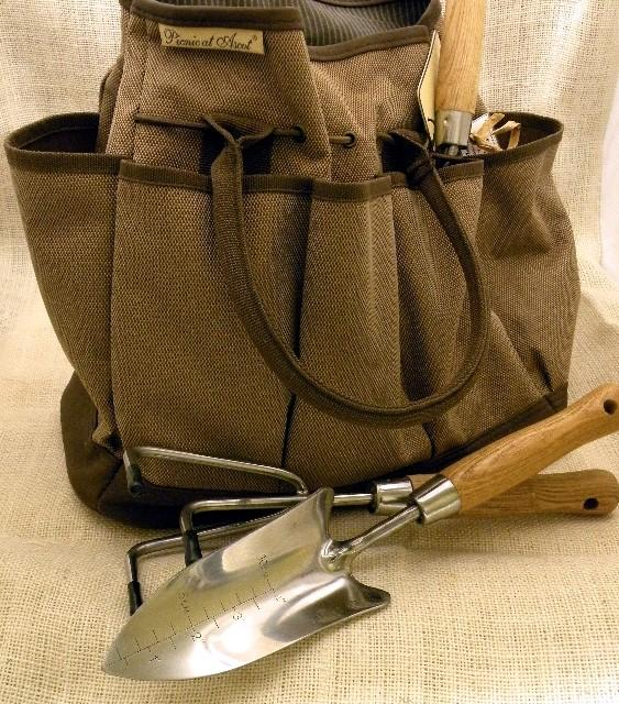 Amazing New Hudson Garden Tote With 3 (substantial Weight) Garden Tools And  Organizer Style Garden